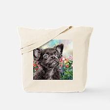 Chihuahua Painting Tote Bag