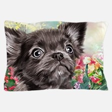 Chihuahua Painting Pillow Case