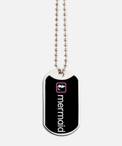 Mermaid (Pink) Dog Tags