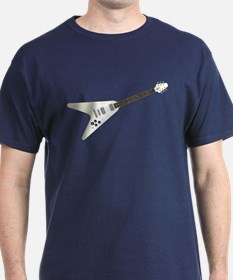 V-Shaped Guitar T-Shirt