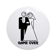 Game Over: Happy Ornament (Round)
