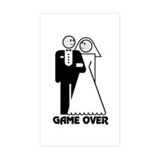 Game Over: Happy Rectangle Decal