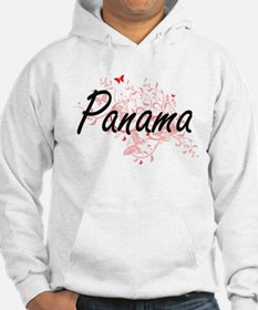 Panama Artistic Design with Butt Hoodie