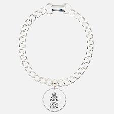 Keep Calm and Love ELIZA Bracelet
