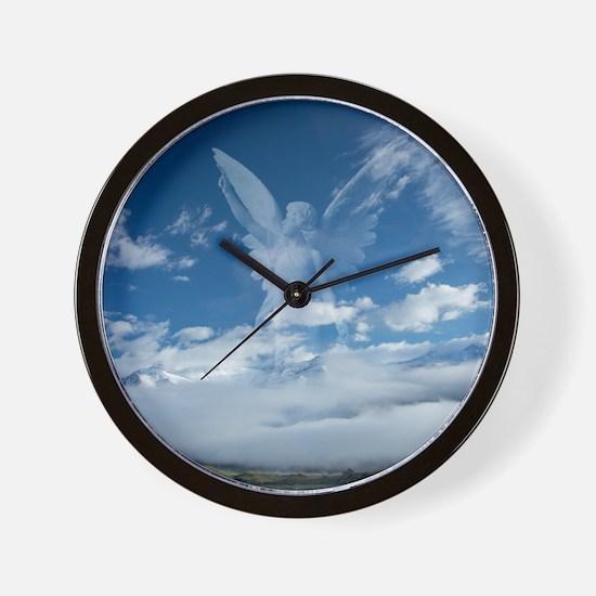 Unique Angel Wall Clock