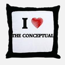 I love The Conceptual Throw Pillow