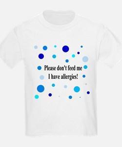 Don't Feed Me - Polka Dots T-Shirt