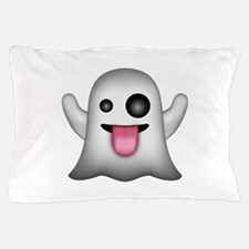 Ghost Emoji Pillow Case