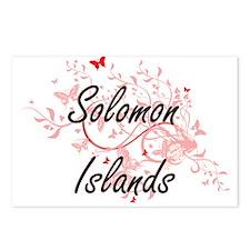Solomon Islands Artistic Postcards (Package of 8)