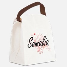 Somalia Artistic Design with Butt Canvas Lunch Bag