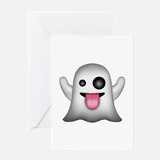 Ghost Emoji Greeting Cards