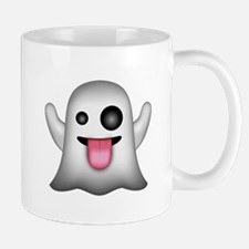 Ghost Emoji Mugs
