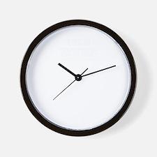 Team WICKS, life time member Wall Clock