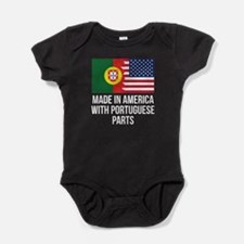 Made In America With Portuguese Parts Baby Bodysui