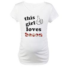 This girl loves bacon Shirt
