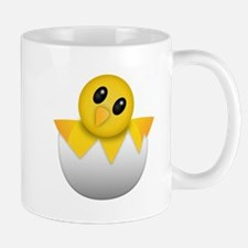 Hacking Baby Chick Emoji Mugs