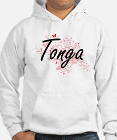 Tonga Artistic Design with Butte Hoodie