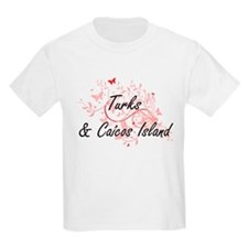 Turks & Caicos Island Artistic Design with T-Shirt