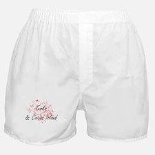 Turks & Caicos Island Artistic Design Boxer Shorts