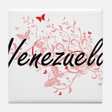 Venezuela Artistic Design with Butter Tile Coaster