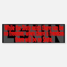 Lenin Quote: the State - Bumper Bumper Bumper Sticker