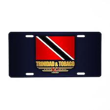 Trinidad & Tobago Aluminum License Plate