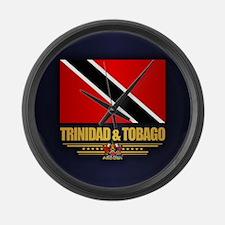 Trinidad & Tobago Large Wall Clock
