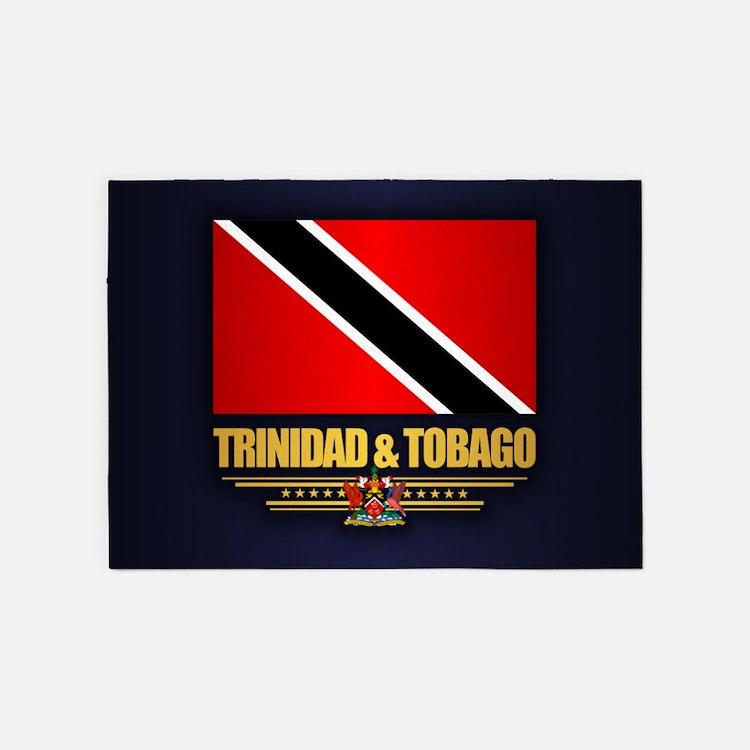 Trinidad & Tobago 5'x7'Area Rug