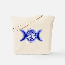 Funny Warlock Tote Bag