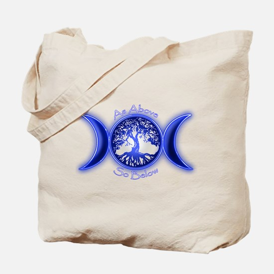 Cute Pagan Tote Bag