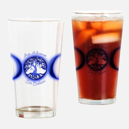 Cool Pentagram Drinking Glass
