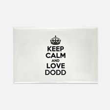 Keep Calm and Love DODD Magnets