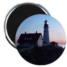 Portland Headlight Maine Daybreak Magnet