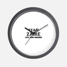 Team ZAIRE, life time member Wall Clock