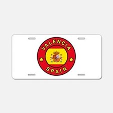 Valencia Spain Aluminum License Plate