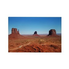 Monument Valley Entrance Rectangle Magnet