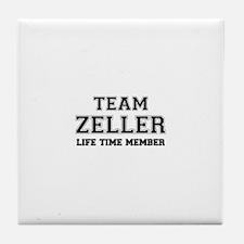 Team ZELLER, life time member Tile Coaster
