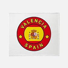 Valencia Spain Throw Blanket