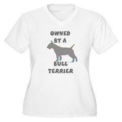 Bull Terrier Pewter T-Shirt