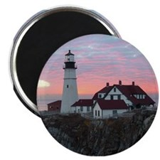 "Portland Headlight Sunrise 2.25"" Magnet (10 pack)"