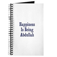 Happiness is being Abdullah Journal
