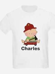 Charles' Little Firefighter T-Shirt