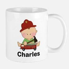 Charles' Little Firefighter Mug
