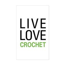 Live Love Crochet Decal
