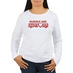 Nurses are Awesome Women's Long Sleeve T-Shirt