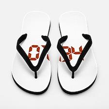 Digital Hello Flip Flops