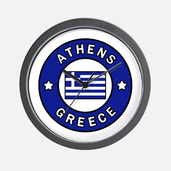 Cute Athens Wall Clock