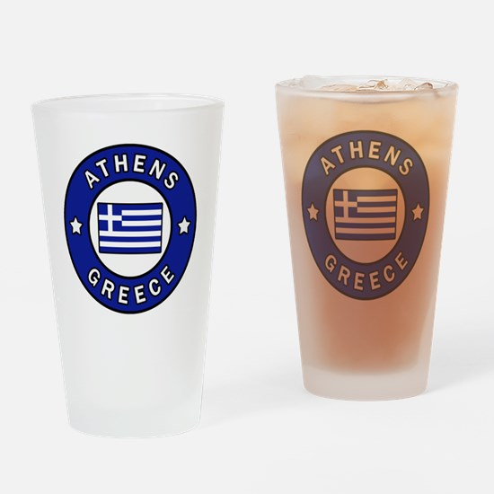 Cute Athens Drinking Glass