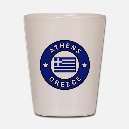 Cute Greece Shot Glass