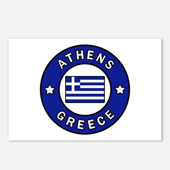 Athens Greece Postcards (Package of 8)